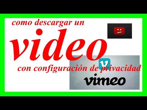 🎯 Como Descargar Videos de VIMEO Bloqueados Por Configuración De Privacidad - 2019
