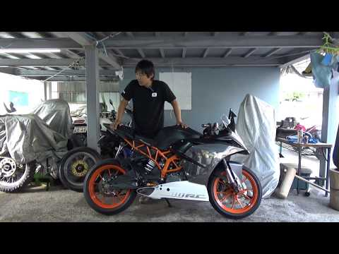 KTM:RC参考動画:RCは「Race Competition」の略とデザイン