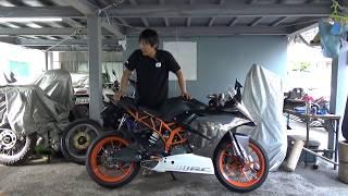 KTM:RC390参考動画:RCは「Race Competition」の略とデザイン