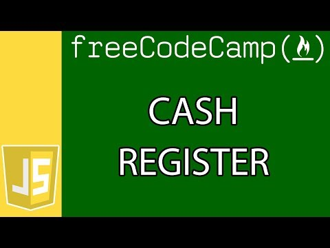 Cash Register | JavaScript Algorithms and Data Structure Projects | Free Code Camp