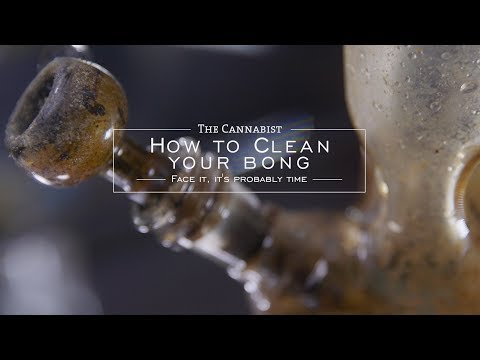 How To Clean Your Bong - YouTube