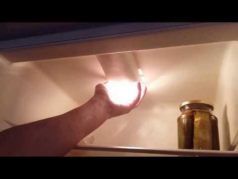 Как заменить лампу в холодильнике бирюса видео