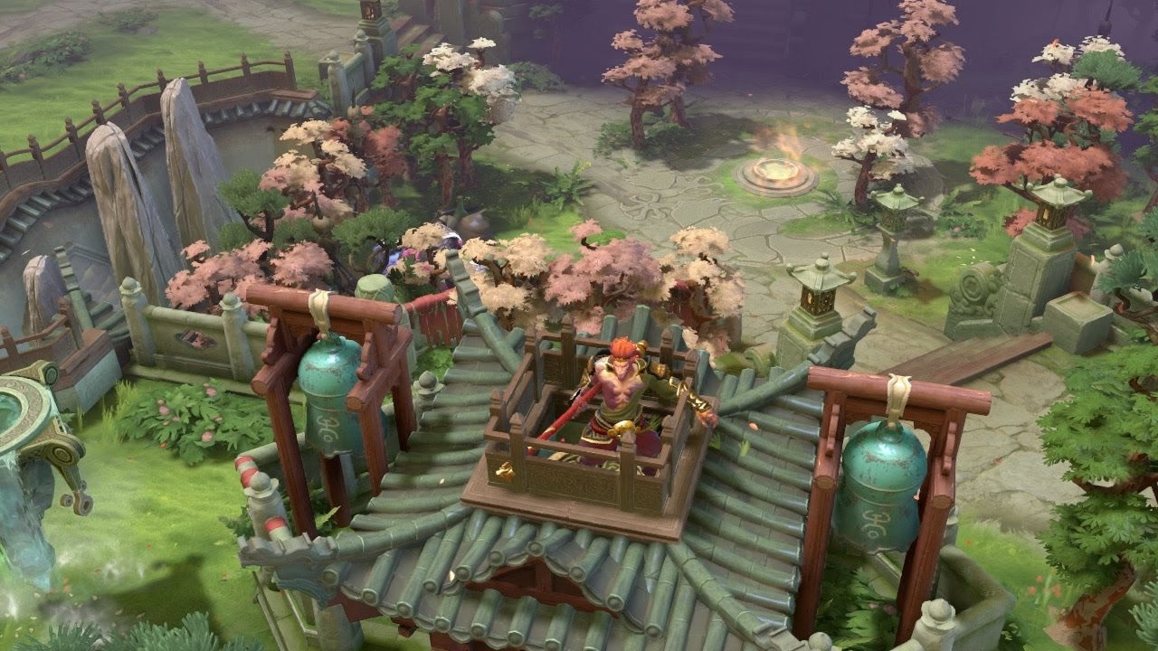 Dota 2 The Kings New Journey Terrain All Weather
