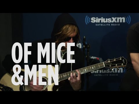 """Of Mice & Men """"Drive"""" Incubus Cover Live @ SiriusXM // Octane"""
