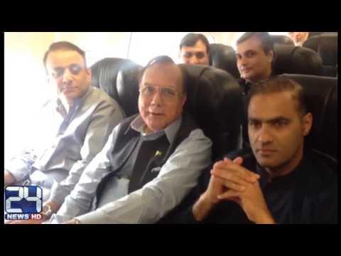 Abid Sher Ali speaks about awkward flight experience