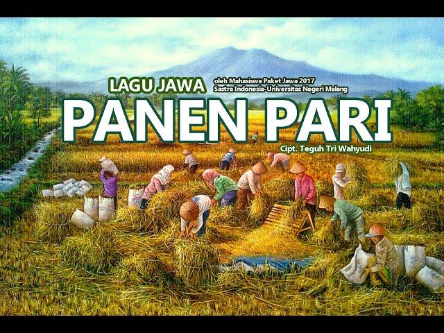 LAGU PANEN PARI