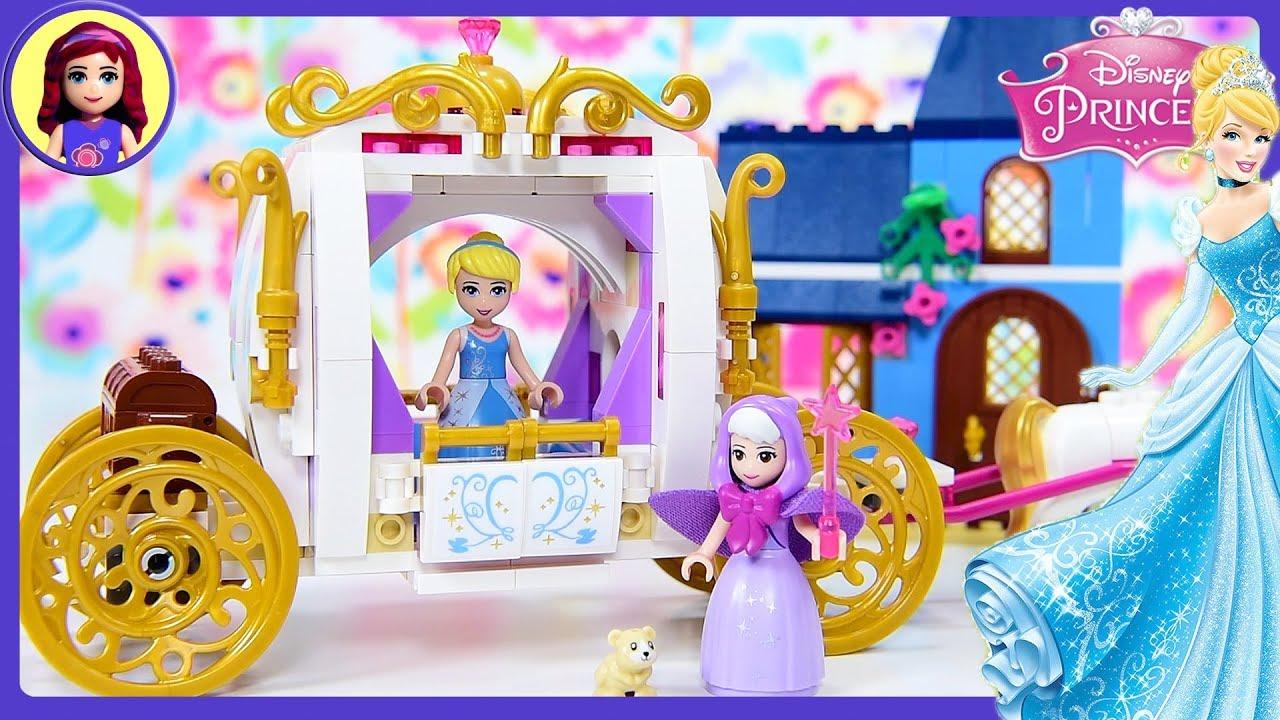Lego Disney Princess Cinderellas Enchanted Evening Build Review