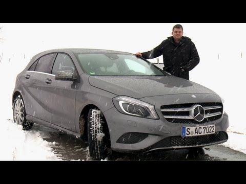 Mercedes A 200 CDI: Wie geräumig und praktisch ist die neue A-Klasse?