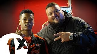 South africa's nasty c drops in for his first fire the booth charlie on bbc radio 1xtra