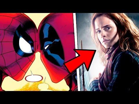 Дэдпул и Человек-Паук целуются, Гермиона должна сидеть в Азкабане, а Лея стать принцессой Диснея?