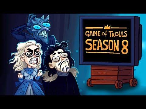 НОВЫЙ СЕЗОН ИГРЫ ПРЕСТРОЛЛОВ! ► Troll Face Quest Game Of Trolls Часть 1