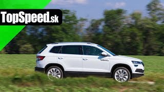 Škoda Karoq 2.0 TDI 4x4 test - Maroš ČABÁK TOPSPEED.sk