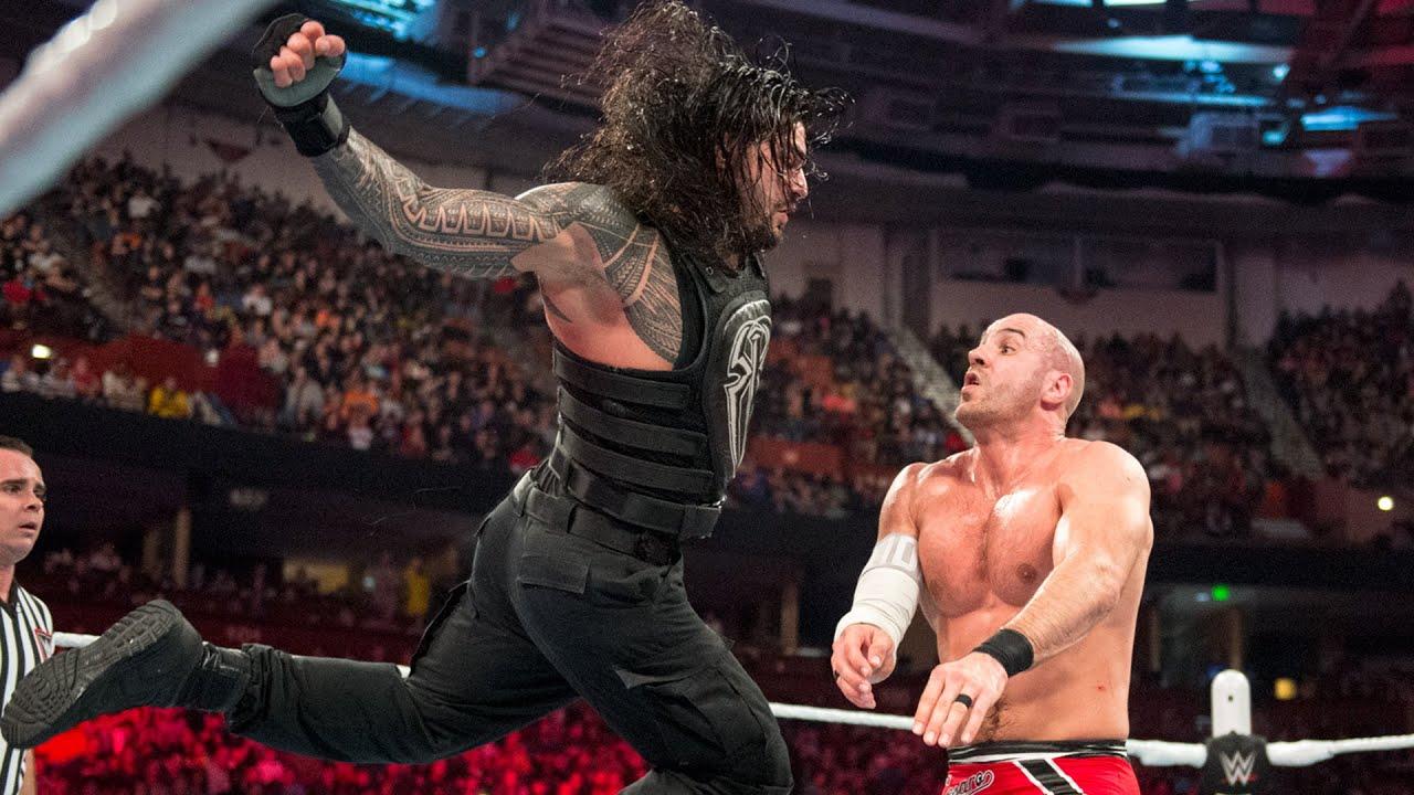 Roman Reigns and Cesaro's forgotten Raw classic: Raw, Nov. 16, 2015