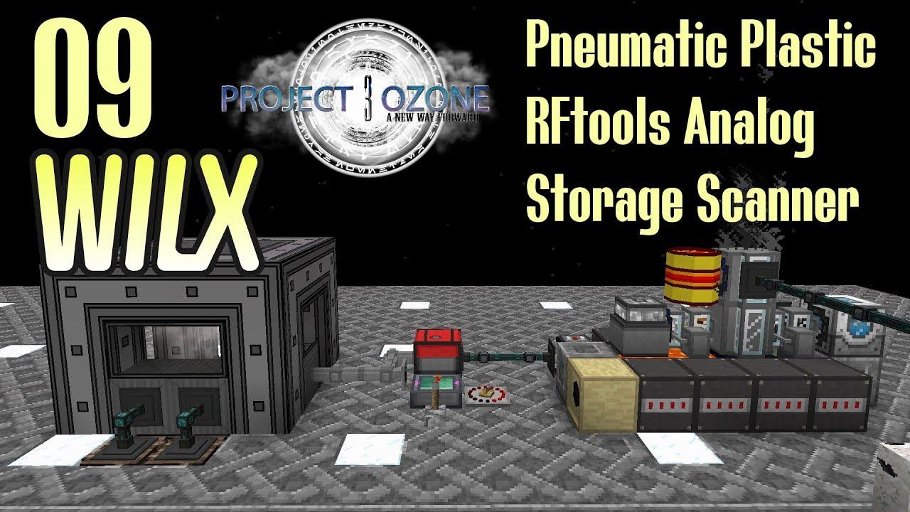 09 - PneumaticCraft Plastic, RFtools Analog - Project Ozone 3