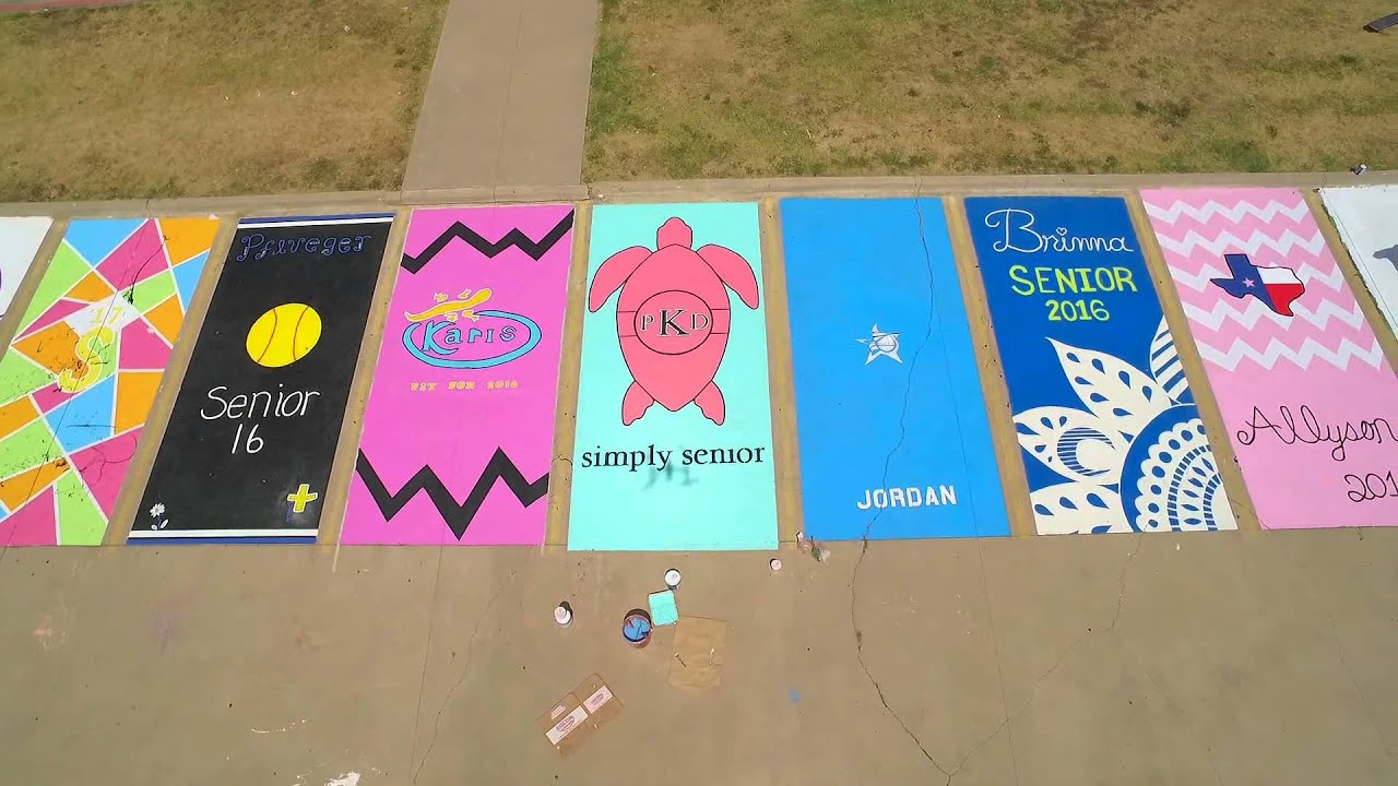 Jhs Parking Lot Painting 2015 2016 Youtube
