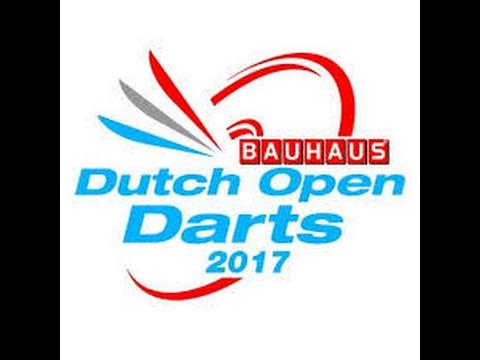 2017 Dutch Open Darts Leferink vs Spaans