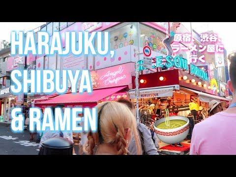 Day In My Life In Japan! 🇯🇵 Harajuku, Shibuya and Ramen! 🍜 | LeSweetpea