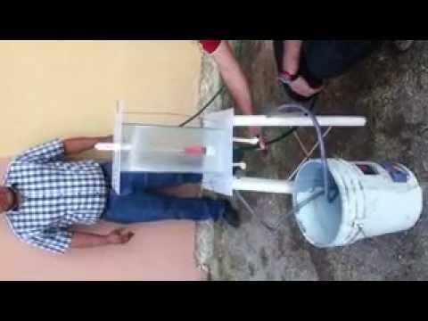 Medidor de fuerza de chorro de agua en superficie plana - Medidor de agua ...