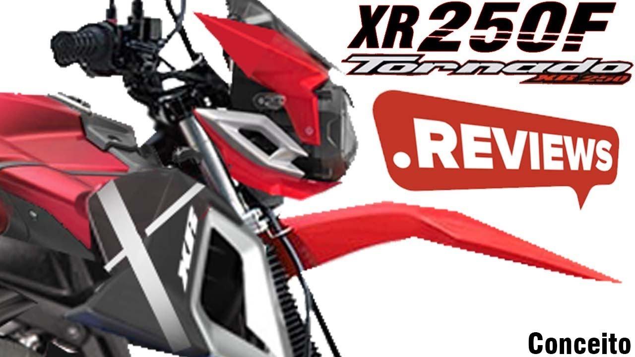 Xr 250 Tornado 2019 Conceito Desenho Futurista Xr 250cc