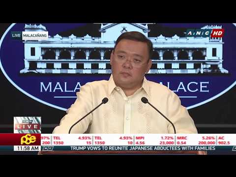 WATCH: Palace holds press briefing | 19 April 2018