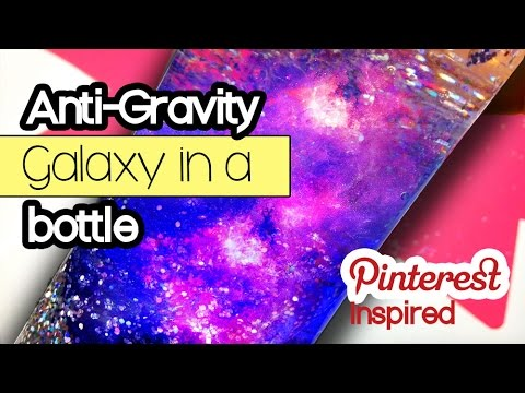 Anti Gravity DIY Galaxy in A bottle | Space Activities for Kids