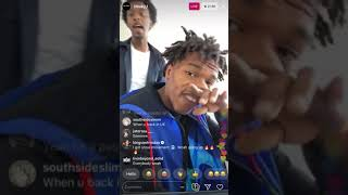 Lil Baby accidentally says his number and fans call (on live)!!