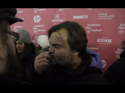 Jack Black BEST INTERVIEW! Cough drops…and…TENACIOUS D!