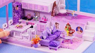 DIY Miniature House ~  10 Minute DIY Miniature Crafts #126 ~ 미니어쳐 헬로 키티 인형집 만들기