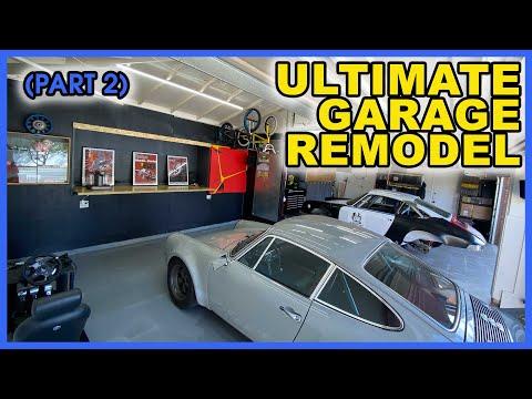 ultimate-porsche-garage-upgrade-part-2-|-my-insane-garage-remodel!