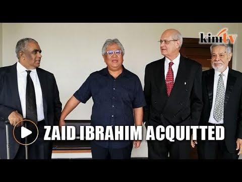 Zaid Ibrahim acquitted