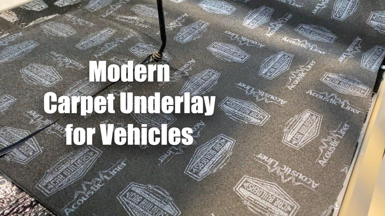 Modern Vehicle Carpet Underlay