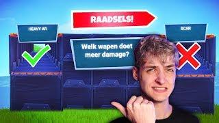EEN MOEILIJKE NIEUWE RAADSEL MAP!! | Fortnite Creative Nederlands
