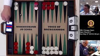 Championship Division -- 9pts -- Steve Brown vs. Larry Shiller -- Round 8