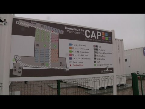 Le CAP, nouveau centre d'accueil pour migrants
