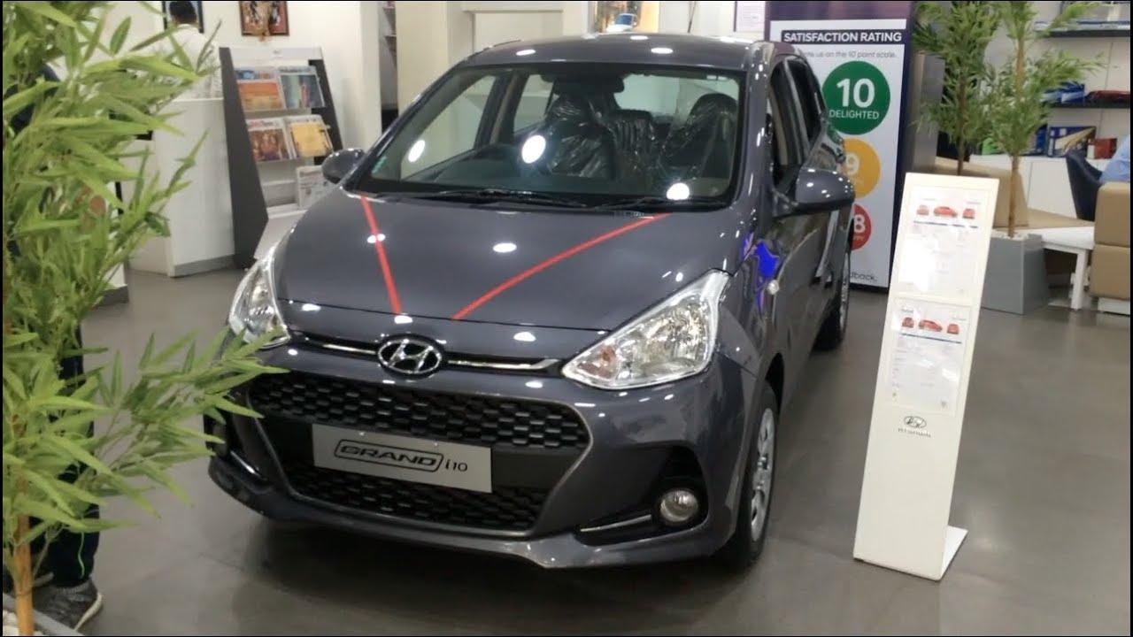 2017 Hyundai Grand I10 Magna Model Interior And Exterior Full Walkaround