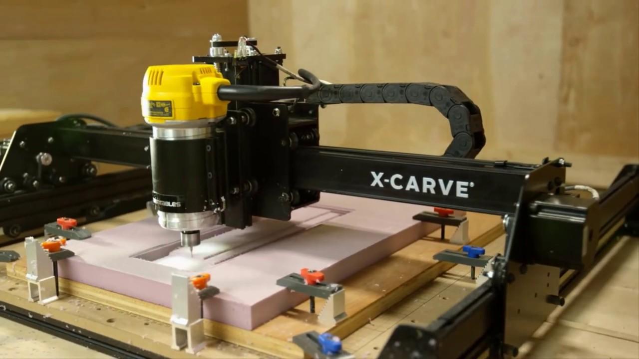 X-Carve   Affordable CNC Machine   3D Carving Machine   Inventables