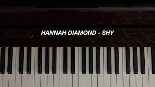 Hannah Diamond - Shy (Piano Cover)