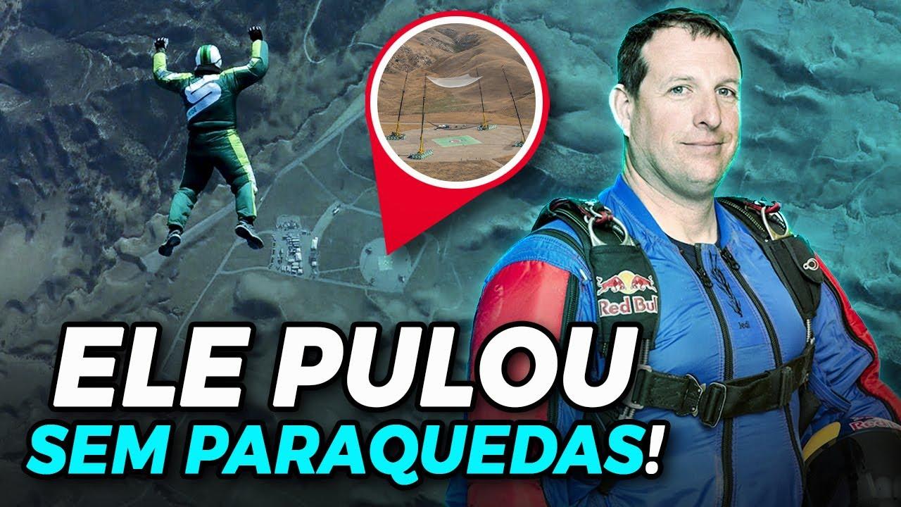 LUKE AIKINS, o Homem que pulou de um Avião SEM PARAQUEDAS! (VEJA O SALTO!)
