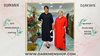 01 05 2021 Часть 2 Показ женской одежды больших размеров DARKWIN от DARKMEN Турция Стамбул ОПТ