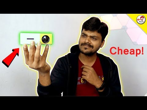 Pocket Size LED Projector for Home at Rs.2500 | Tamil Tech