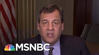 Chris Christie: Media Has A Donald Trump Obsession | MSNBC