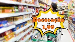 DIY Com coisas de Lojas de R$1,99 – Como Decorar sem Gastar Muito