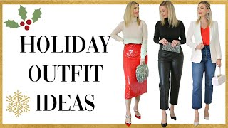 HOLIDAY OUTFIT IDEAS: 2020 Lookbook
