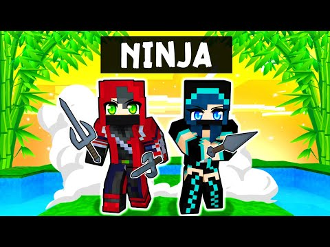 Playing as a NINJA in Minecraft!