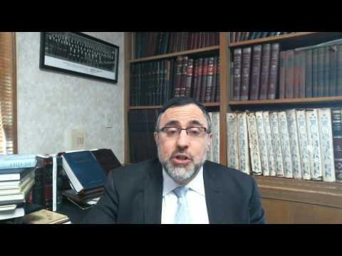Video Vort - Acharei Mos Kedoshim 5777 - Rabbi Etan Tokayer