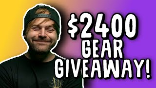 Giving away my dream guitar starter pack ($2400 limit)