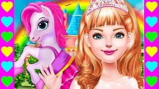 День Рождения принцессы. Детский мультик про пони. Мультфильмы для детей.