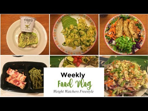 Weight Watchers Food Vlog | What I Ate this Week