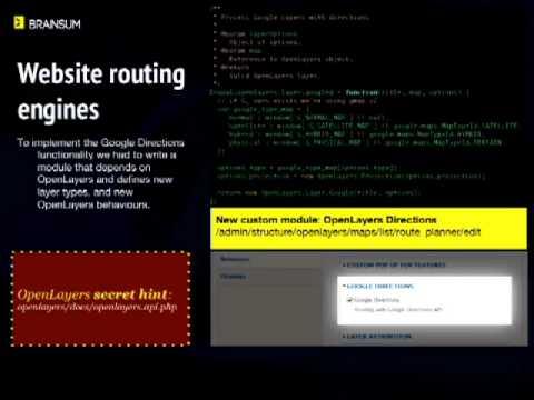 Creando un planificador de rutas con Drupal y OpenLayers (DrupalCon
