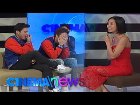 CINEMANEWS: Bianca Plays 'G! Or No G!' With The Cast Of 'G!'